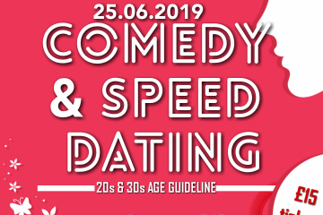 Comedy & Speed Dating | 20s+30s