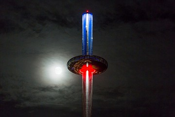 Dark Skies Festival at British Airways i360