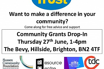 East Brighton Community Grants Drop-In