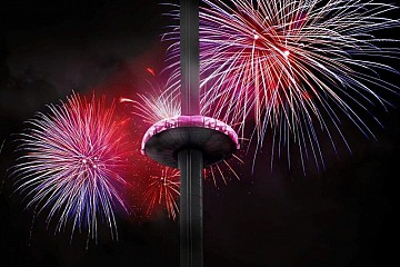 Fireworks Night at British Airways i360