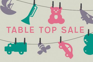 Hanover Baby and Kids Table Top Sale