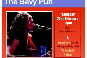 Live Music at The Bevy - Lou Noble & The Source
