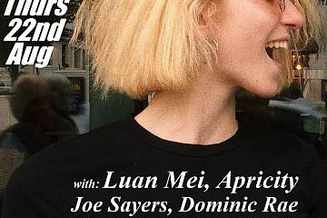 Luan Mei; Apricity; Georgia Hazelgrove; Dominic Rae; Joe Sayers