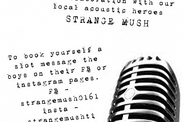 Open Mic @ The Round Georges w/ Strange Mush