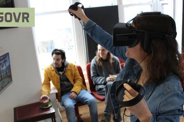 Play VR at GOVR cafe