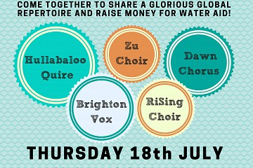 Sing for Water Brighton