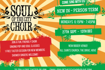 Soul of the City Monday early evening Choir