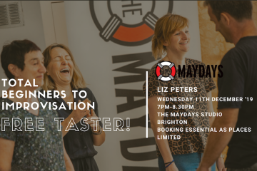 The Maydays Total Beginners to Improv Free Taster Session