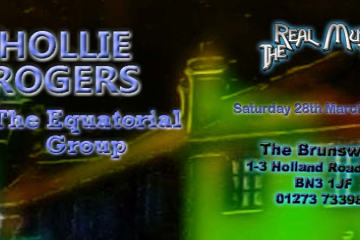 The Real Music Club Presents Hollie Rogers + The Equatorial Group