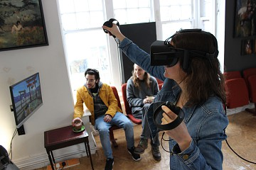 Virtual reality games, films and racing at GOVR cafe